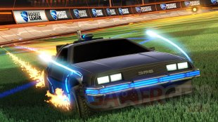 Rocket League Retour vers le Futur screenshot 2