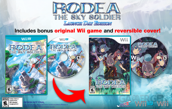 Rodea the Sky Soldier launch day