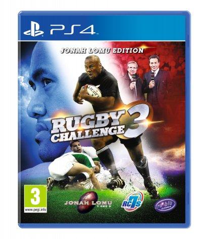 Test rugby challenge 3 jonah lomu edition une - Quel est la meilleur console ps4 ou xbox one ...