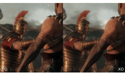 Ryse son of rome difference comparaison