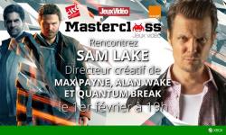 Sam Lake masterclass