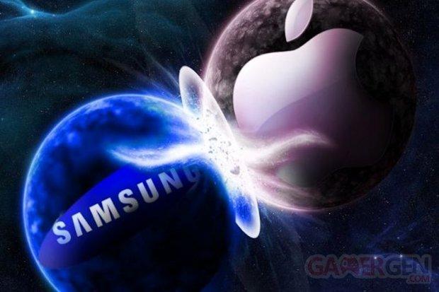 Samsung apple vignette