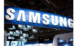 samsung booth logo
