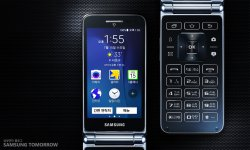 Samsung Galaxy Folder 2015 flip phone