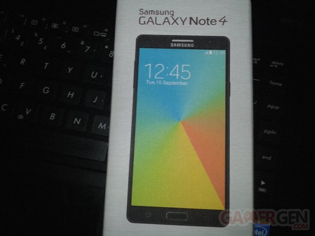 samsung galaxy note 4 box boite retail
