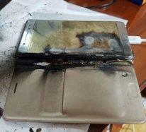 Samsung Galaxy Note 7 combustion8
