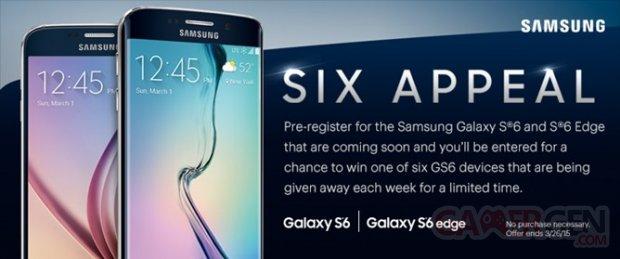 Samsung Galaxy S6 Edge publicite Leak