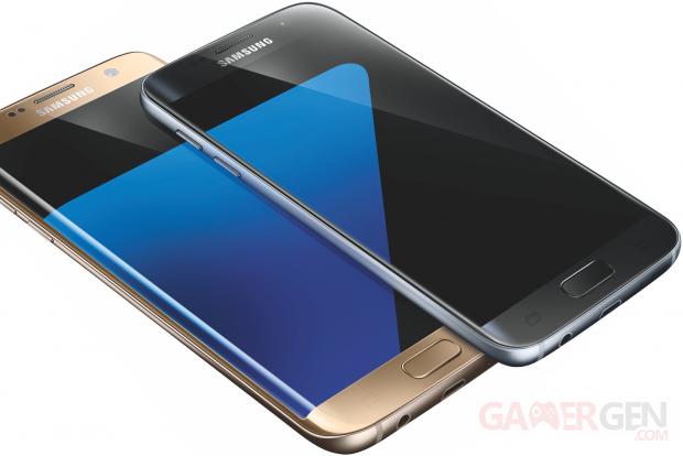 Samsung Galaxy S7 angle
