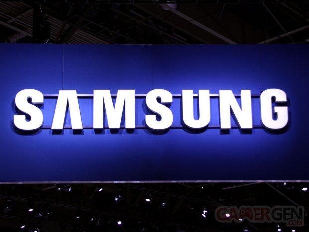 samsung logo booth