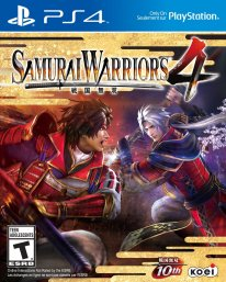 samurai warriors 4 jaquette boxart cover ps4