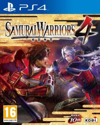 Samurai Warriors 4 jaquette PS4