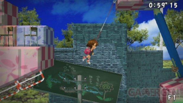 Sayonara Umihara Kawase Chirari screenshot 1