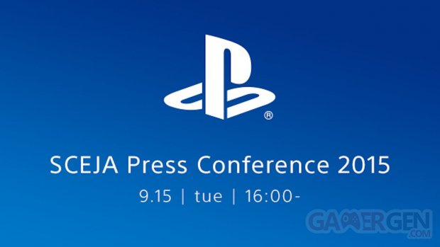 SCEJA Press Conference 2015 TGS tokyo game show