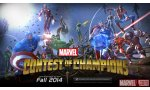 sdcc 14 marvel contest of champions super heros affrontent mobiles