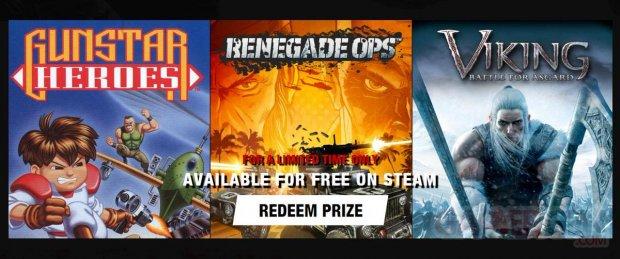 SEGA redeem prize