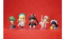 Senran Kagura Burst 2 Deep Crimson figurines