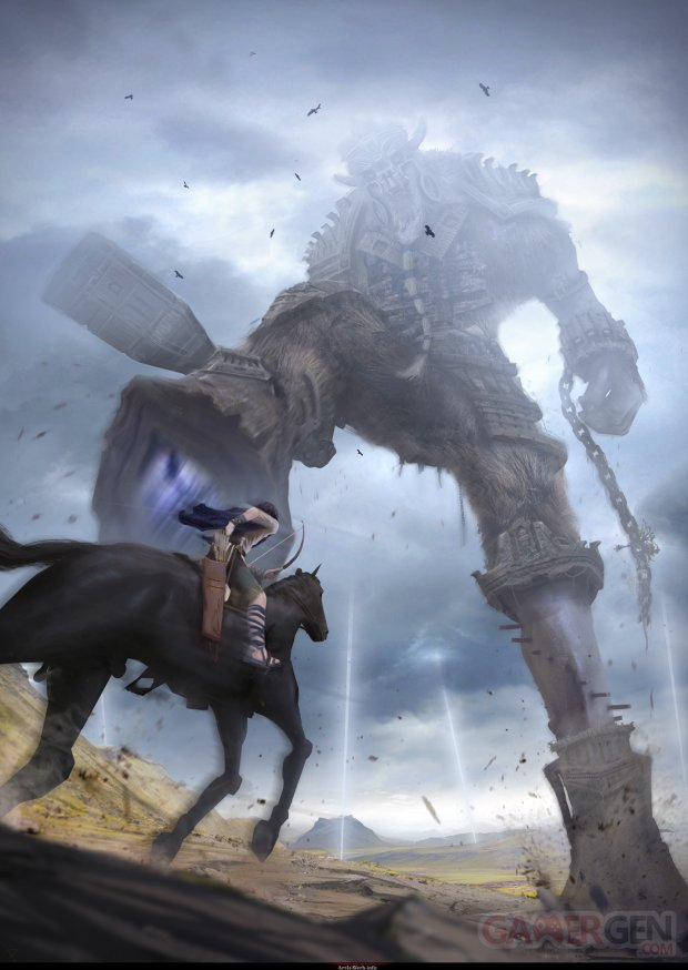 Shadow of the colossus x naughty dog 2