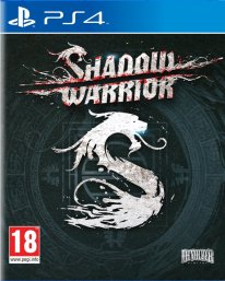 Shadow Warrior jaquette PEGI PS4
