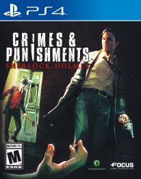 Sherlock Holmes Crimes and Punishments cover jaquette boxart ps4