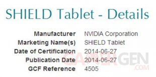 shield tablet gcf