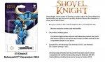 shovel knight amiibo nintendo yacht club games figurine nfc