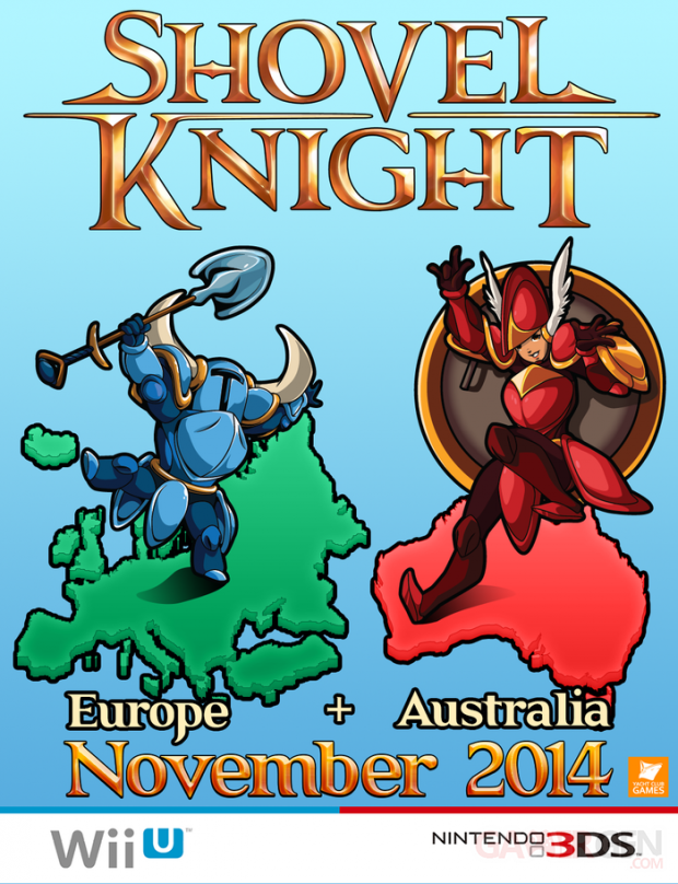 shovel knight date eshop europe australie