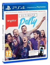 SingStar ultimate party jaquette PEGI PS4