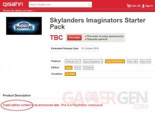 skylanders imaginators crash edition ps4 crash bandicoot