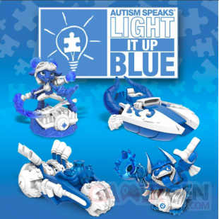 Skylanders SuperChargers autisme