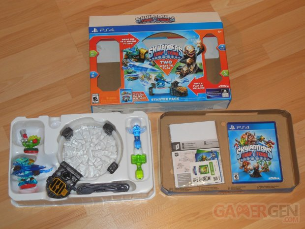 skylanders trap team ps4 unboxing deballage photo starter pack  45