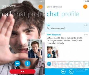 Skype Windows Phone