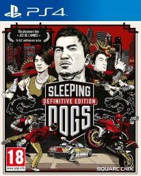 Sleeping Dogs jaquette PEGI PS4