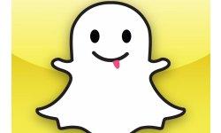 Snapchat logo head