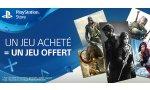 SOLDES - PlayStation Store : un jeu acheté, un jeu offert