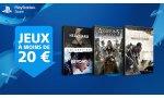 SOLDES - PlayStation Store: des jeux à moins de 20 € sur PS4, des rabais sur PS3 et PSVita