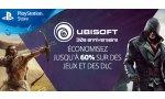 SOLDES - PlayStation Store : plusieurs réductions de divers jeux Ubisoft sur PS4, PS3 et PSVita