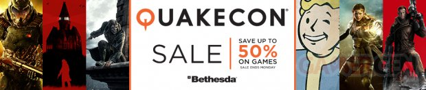 Soldes QuakeCon Bethesda Humble Store