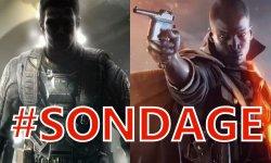 Sondage de la semaine Battlefield 1 Call of Duty Infinite Warfare (1)