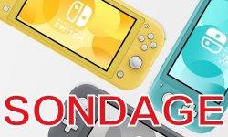 SONDAGE DE LA SEMAINE : Nintendo Switch Lite, que pensez-vous de la console