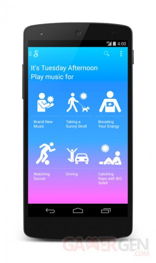 Songza   Mobile Screenshot