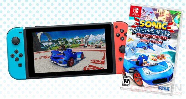 Sonic All Star Switch image