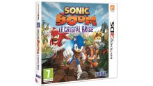 Sonic Boom 3ds jaquette