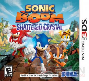 Sonic Boom jaquette US 1