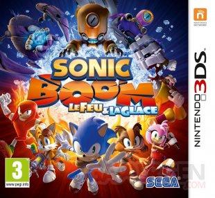 Sonic Boom Le Feu et la Glace jaquette