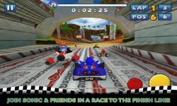 sonic sega all stars racing android screenshot  (3)
