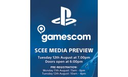 Sony PlayStation Gamescom 2014 invitation
