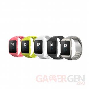 sony smartwatch 3 bracelet metal ces2015 (3)