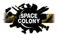 space colony logo clear