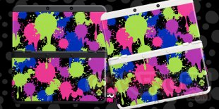 Splatoon 07 05 2015 coques New 3DS