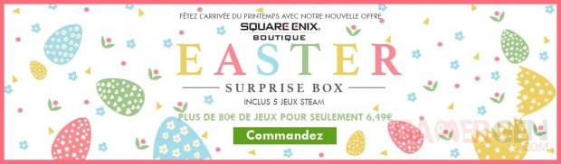 square enix surprise box pâques